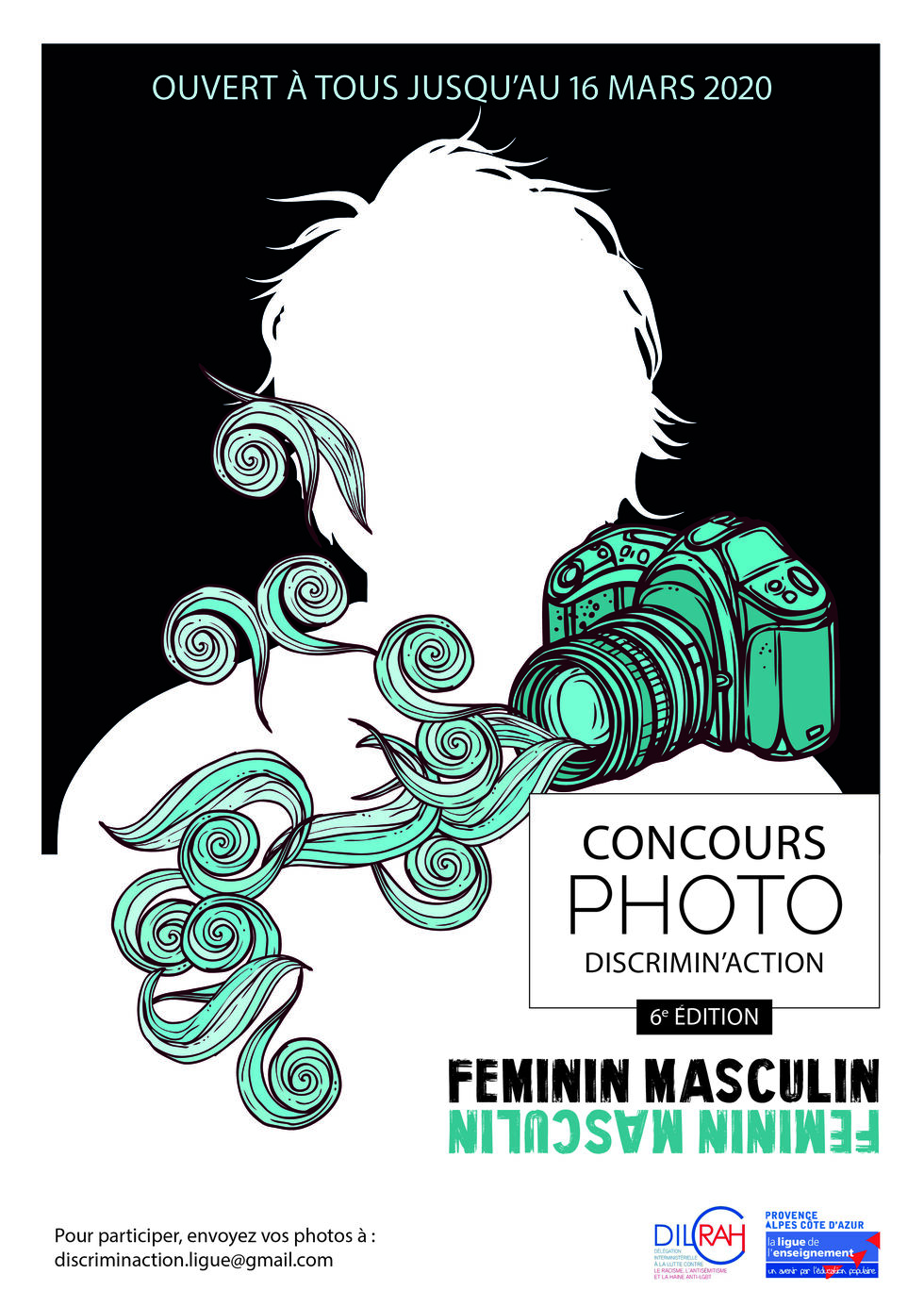 Affiche concours photo discriminaction 2019 2020